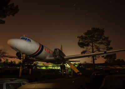 Aeroplane at Wijnland Auto Museum