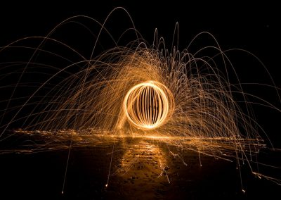 Night Painting with Light in Paternoster