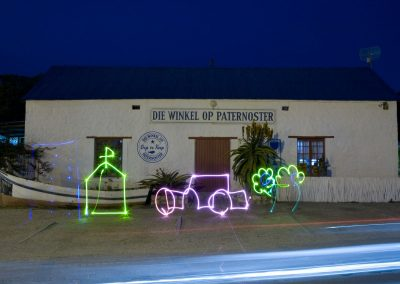 Paint with Light Die Winkel op Paternoster