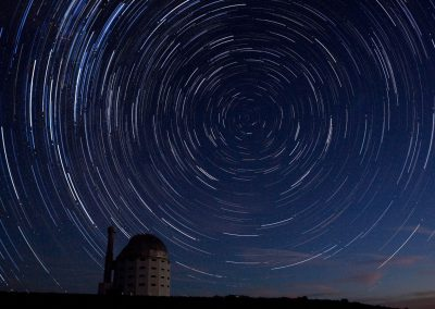 SALT South Africa's Large Telescop Star Trail
